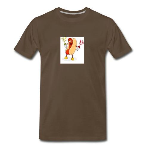 Hot dog t - Men's Premium T-Shirt