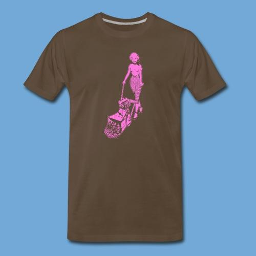 Roto-Hoe pink. - Men's Premium T-Shirt