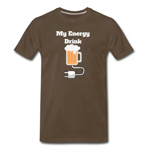 Beer My Energy Drink - Men's Premium T-Shirt