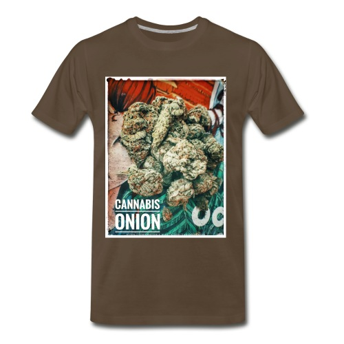CANNABIS AD BRAND 02 - Men's Premium T-Shirt