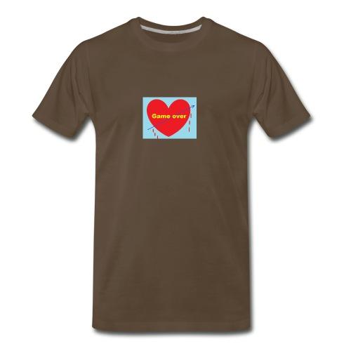 The end in love - Men's Premium T-Shirt