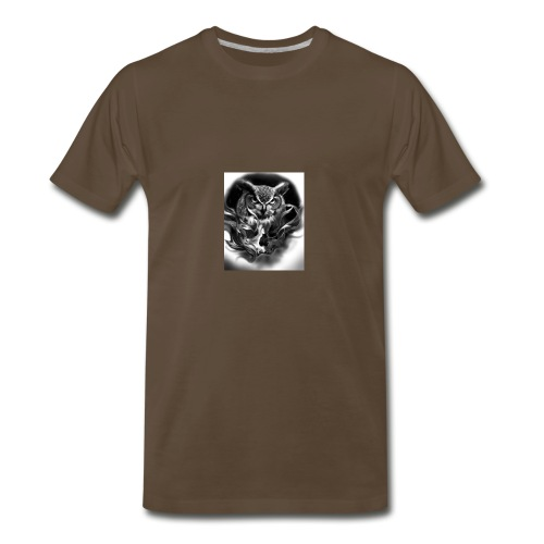 Owl of death - Men's Premium T-Shirt