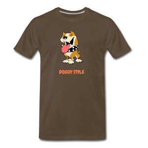 DOGGY STYLE right here - Men's Premium T-Shirt