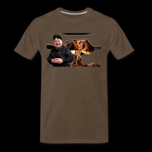 Crazy Kim exploded - Men's Premium T-Shirt
