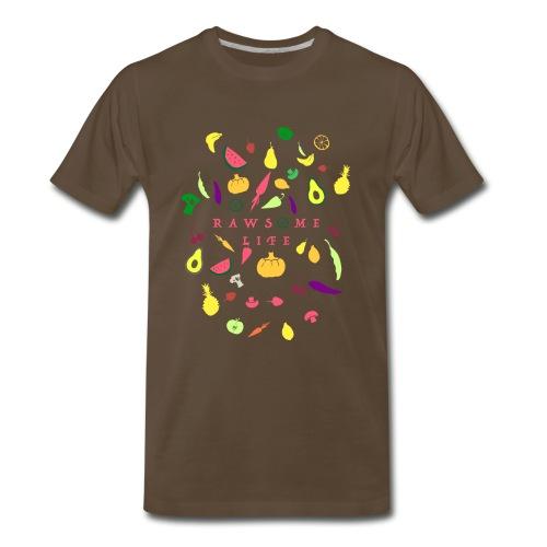Awesome fruit life - Men's Premium T-Shirt