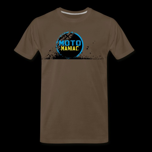 MotoManiac's tracks - Men's Premium T-Shirt