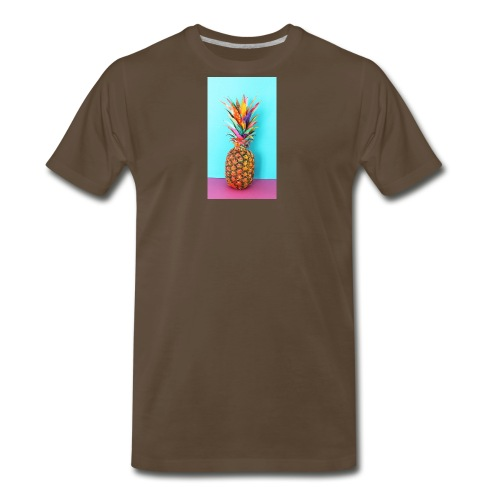 Colorful pineapple - Men's Premium T-Shirt