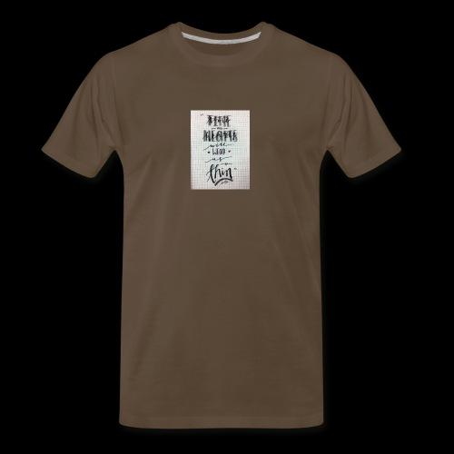 Sick of losing soulmates - Men's Premium T-Shirt