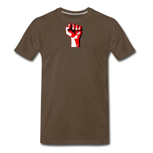 REEVVOLT fist MERCH - Men's Premium T-Shirt