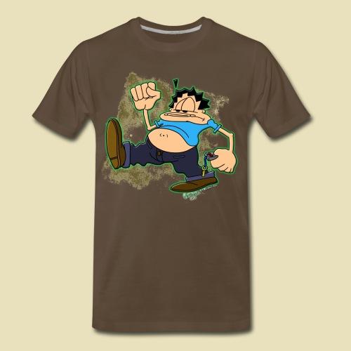 Ongher's UFO Ongher March - Men's Premium T-Shirt