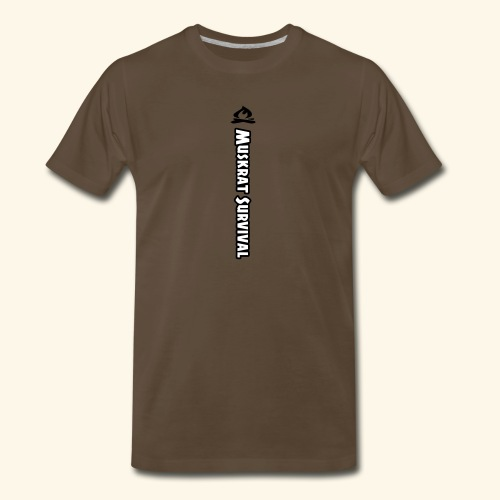 Muskrat Survival Tall - Men's Premium T-Shirt