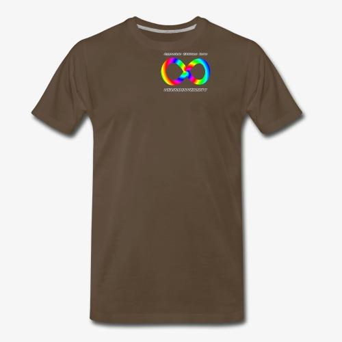 Embrace Neurodiversity with Swirl Rainbow - Men's Premium T-Shirt