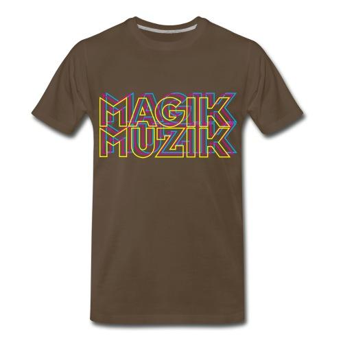 Magik Muzik colored - Men's Premium T-Shirt
