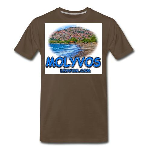 Lesvos Molyvos Best jpg - Men's Premium T-Shirt