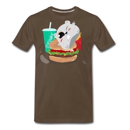 Fast Food Sun - Men's Premium T-Shirt