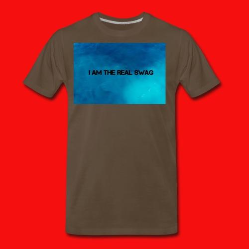 I AM THE REAL SWAG - Men's Premium T-Shirt