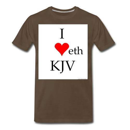 kjv - Men's Premium T-Shirt