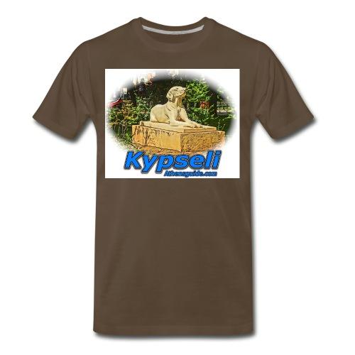 kypseli dog jpg - Men's Premium T-Shirt