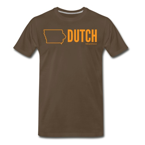 Iowa Dutch (orange) - Men's Premium T-Shirt