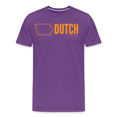 Iowa Dutch (orange) - Men's Premium T-Shirt
