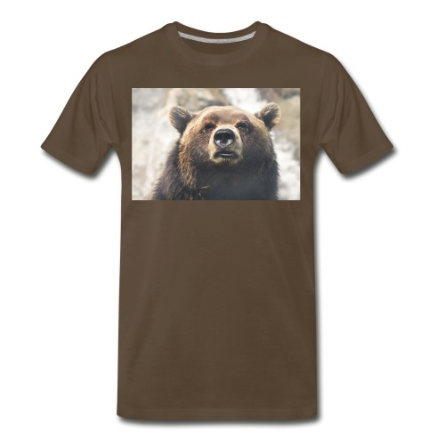bear copy jpg - Men's Premium T-Shirt