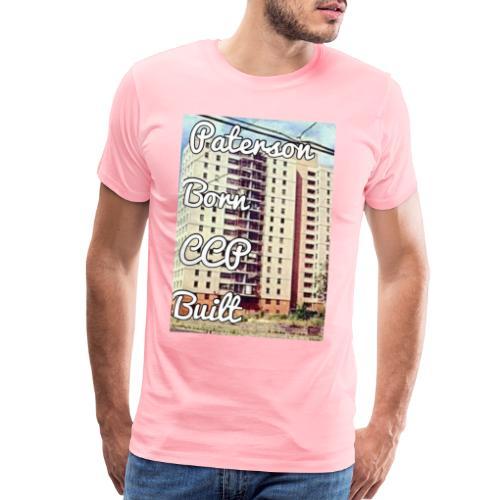Paterson Born CCP Built - Men's Premium T-Shirt