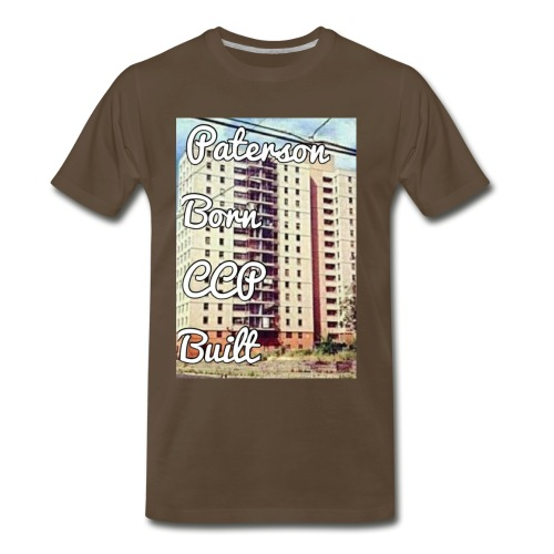 Paterson Born CCP Built - Men's Premium T-Shirt