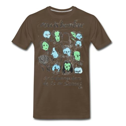 Man is born Free - Men's Premium T-Shirt