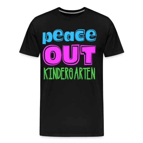 Kreative In Kinder Peace Out - Men's Premium T-Shirt