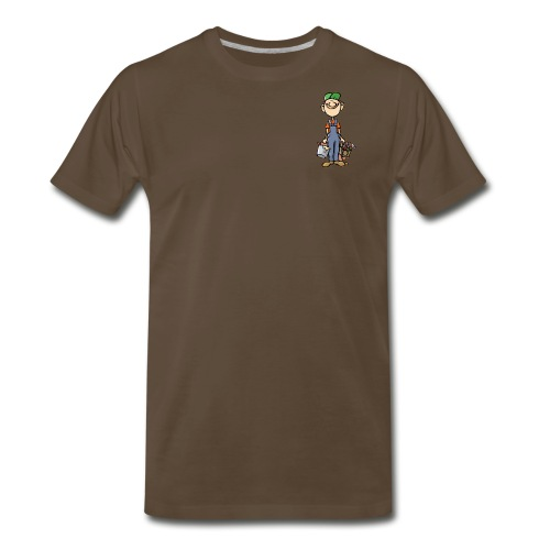 a4 marc logo - Men's Premium T-Shirt