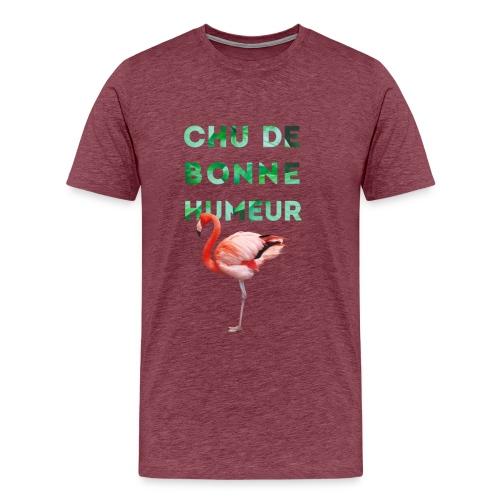 Pl_tshirt_typo flamand_40 - Men's Premium T-Shirt
