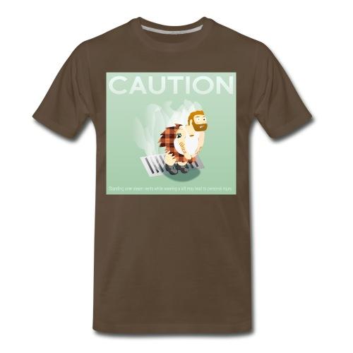 kilt square 01 png - Men's Premium T-Shirt