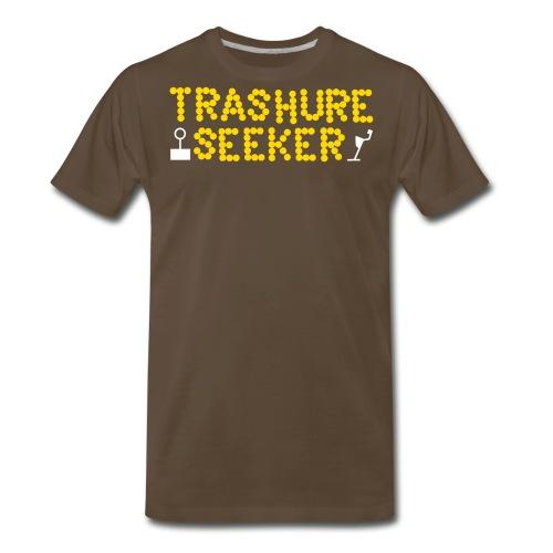 TrashureSeekerLogo - Men's Premium T-Shirt