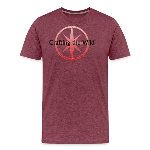 Crafting The Wild - Men's Premium T-Shirt