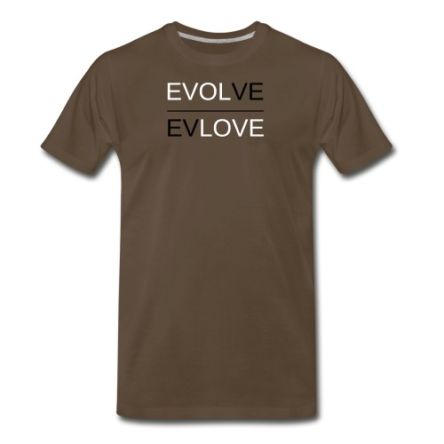 Classic Reverse B & W - Men's Premium T-Shirt