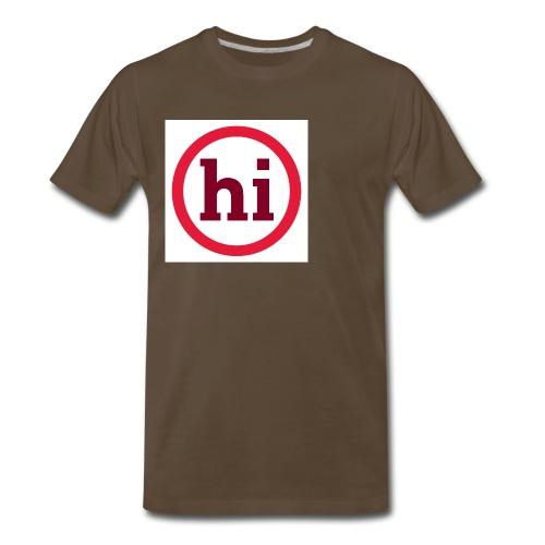hi T shirt - Men's Premium T-Shirt