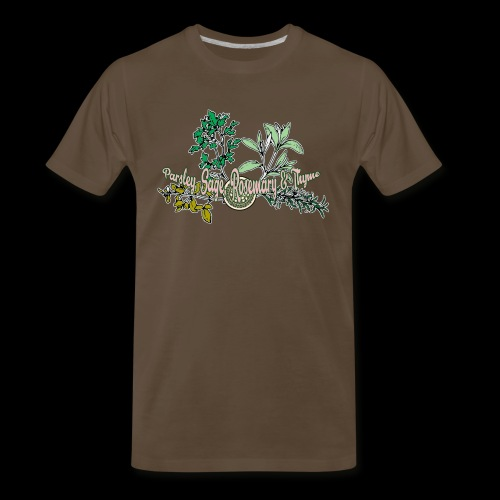Parsley Sage Rosemary & Thyme 2 - Men's Premium T-Shirt