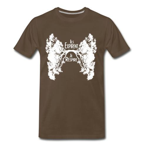 Oxygène Blanc - Men's Premium T-Shirt