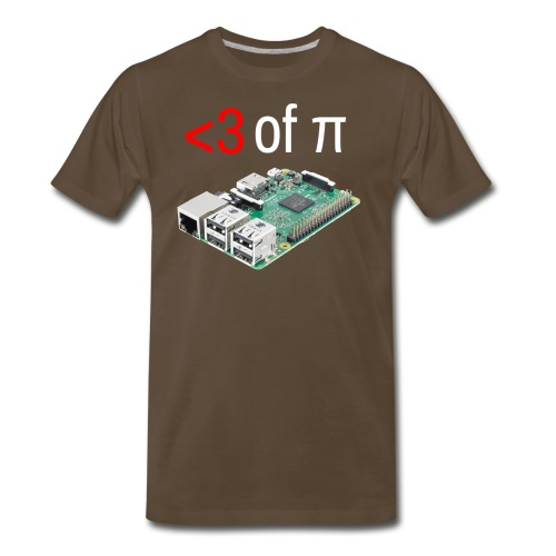 Life of Raspberry Pi - Men's Premium T-Shirt