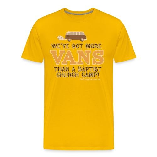 grumpy van outline01 crop - Men's Premium T-Shirt