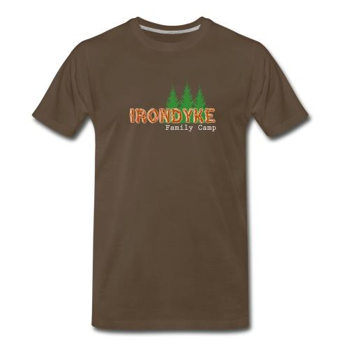 IrondykeNewLogo full png - Men's Premium T-Shirt