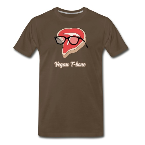 Vegan T bone - Men's Premium T-Shirt