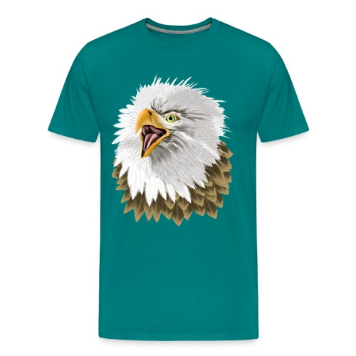 Big, Bold Eagle - Men's Premium T-Shirt