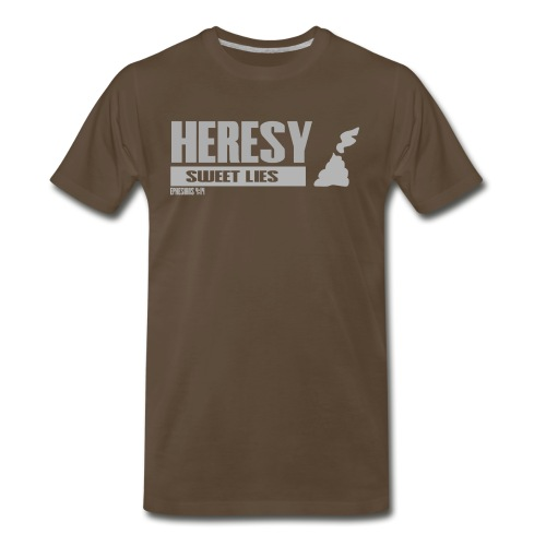 Heresy- Taste Death - Men's Premium T-Shirt