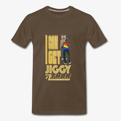 I Can Get Jiggy with It - Men's Premium T-Shirt