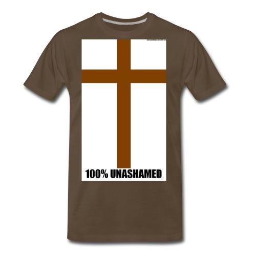 100 UNASHAMED - Men's Premium T-Shirt