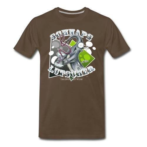 Schnapslutscher I - Men's Premium T-Shirt