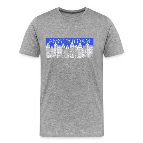 amsterdamcanalhouses - Men's Premium T-Shirt