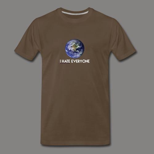 .i Hate everyone. - Men's Premium T-Shirt