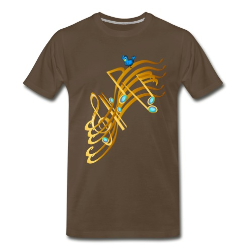 Golden Notes - Men's Premium T-Shirt